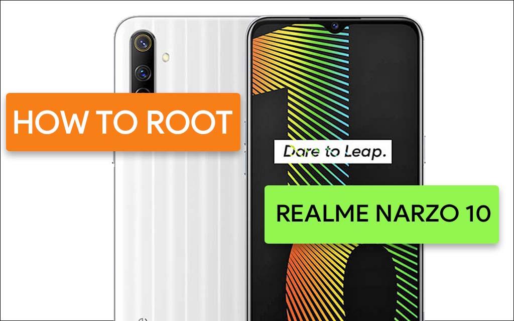 Root Realme Narzo 10