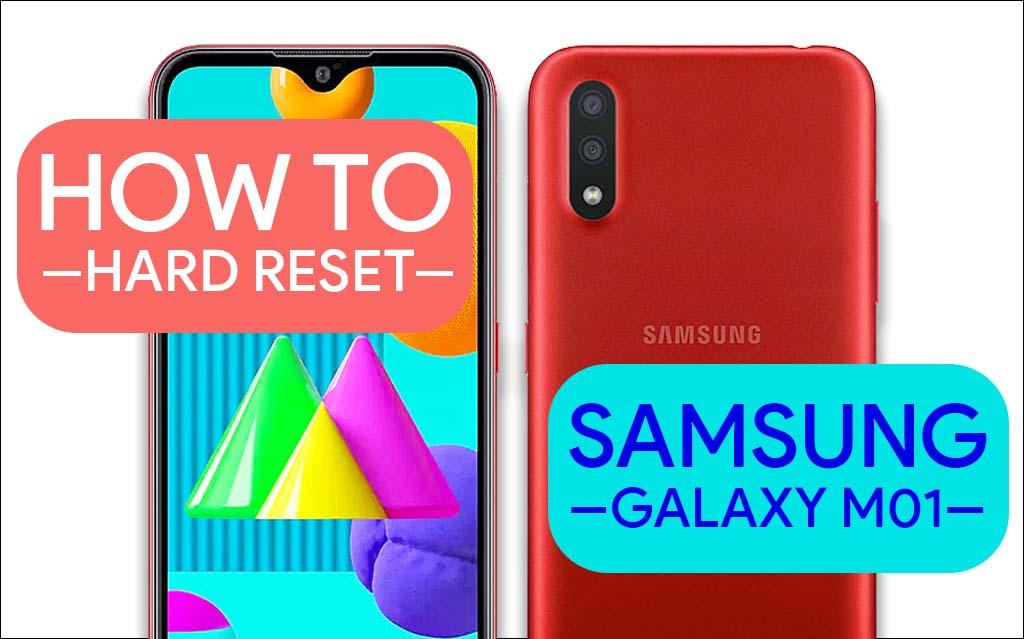 Hard Reset Samsung Galaxy M01