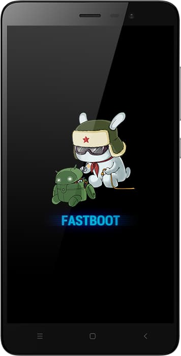 Xiaomi Fastboot Display