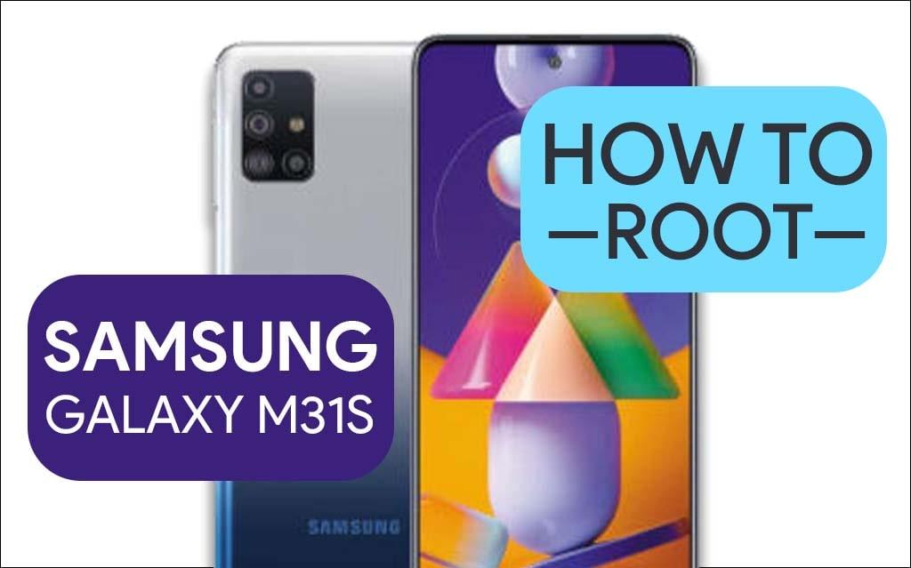 Root Samsung Galaxy M31s