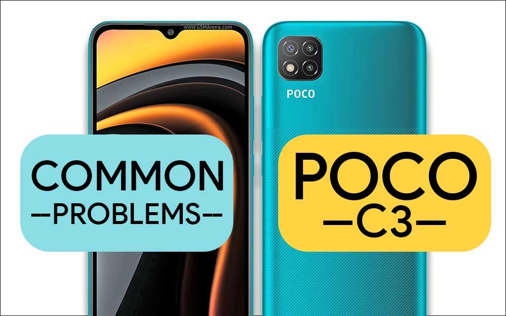 Common problems in Poco C3