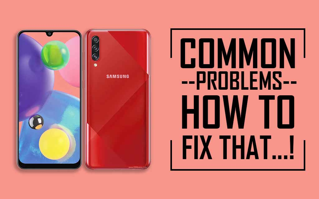 Common Issues In Samsung Galaxy A70s