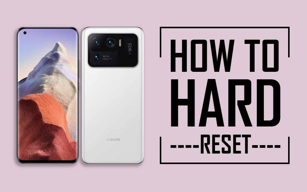 Factory Reset Xiaomi Mi 11 Ultra