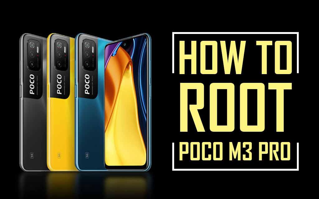 Root Poco M3 Pro